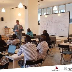Lecture section at The Swiss Africa Business and Innovation Initiative (Startups and Entrepreneurs)