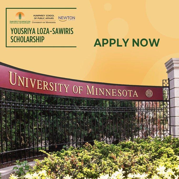 Fully-funded US Study Program for Egyptians in the Yousriya Loza-Sawiris Scholarship Program 2020