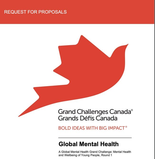 Get Up to $250,000CAD Seed Funding for Innovative Solutions in the Global Mental Health Program 2020
