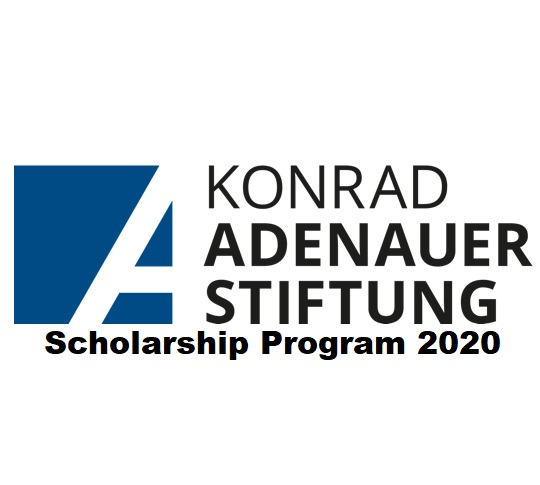 Sponsored Germany Study for International Students in the Konrad-Adenauer-Stiftung Scholarship Program 2020