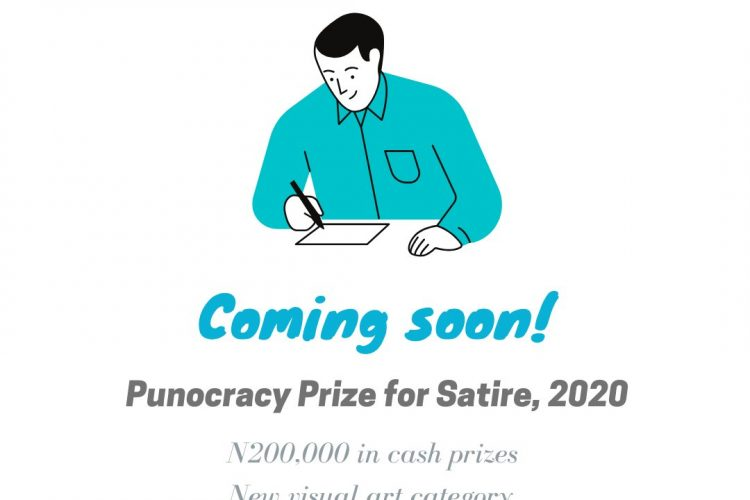 Win up to N200,000 Cash Prize for Nigerians in the Punocracy Prize for Satire 2020