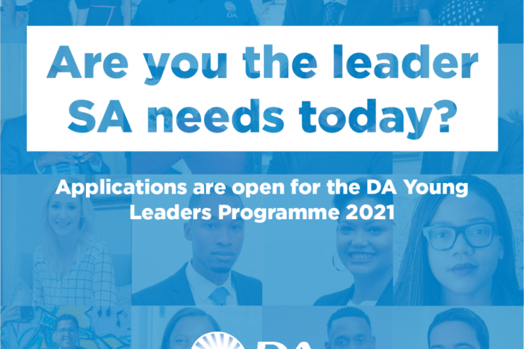 Leadership Learning and Development Program for South Africans in the Democratic Alliance Young Leaders Program Class of 2021