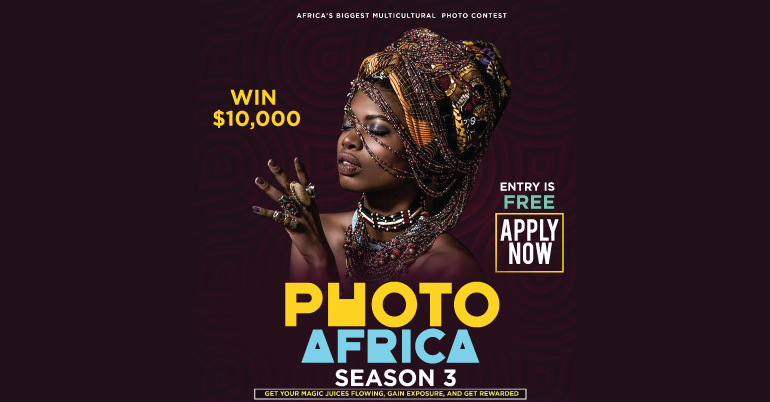 Win up to $10,000 Cash Prize for Africans in the PhotoAfrica Multicultural Photo Contest 2020