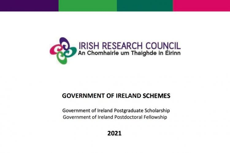 Get up to €16,000 for Outstanding International Scholars in the Government of Ireland Postgraduate Scholarship Program 2021