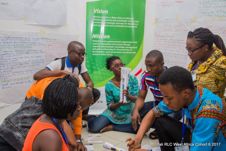 Business and Leadership Trainings for Young West African Leaders in the YALI RLC West Africa Emerging Leaders Program 2020