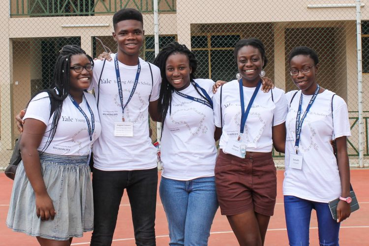 Intensive Coaching Program for African secondary school students in the Yale Young African Scholars (YYAS) Program 2021
