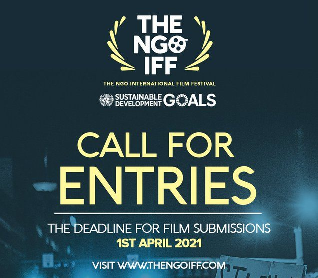 Call for entries in the NGO international film festival 2021.