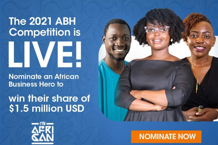 Win a share of $1.5 Million in the Jack Ma Foundation Africa's Business Heroes (ABH) Prize Competition 2021