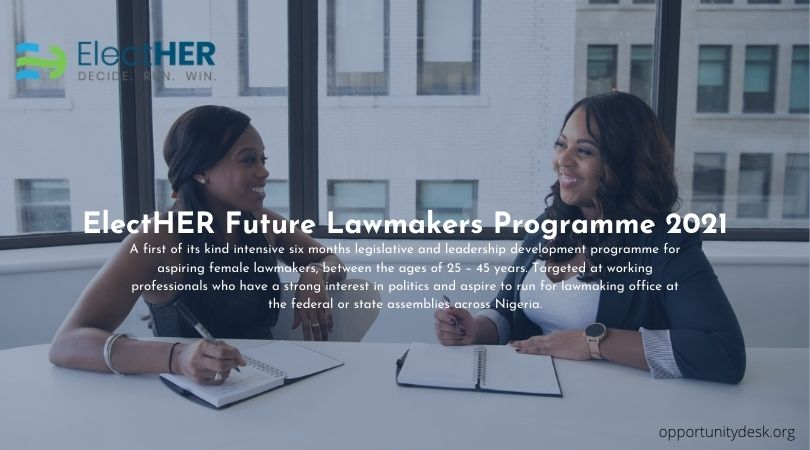 Funding support from ElectHER