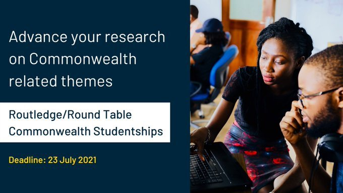 Get up to £5,500 in the ACU Routledge/Roundtable Commonwealth Studentships 2022